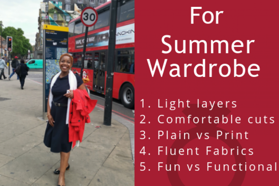 5 tips for the busy woman's summer wardrobe